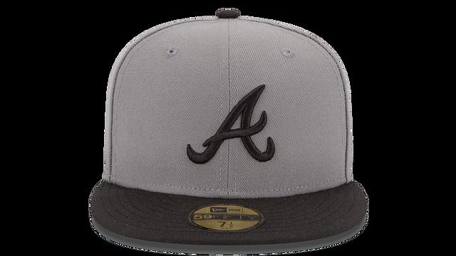 ATLANTA BRAVES MLB BASIC 59FIFTY FITTED