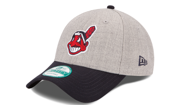 CLEVELAND INDIANS HEATHER 9FORTY ADJUSTABLE