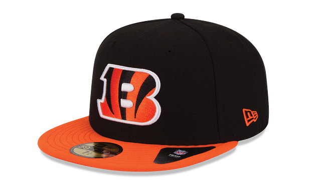 CINCINNATI BENGALS 59FIFTY FITTED