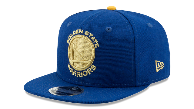 GOLDEN STATE WARRIORS GOLD FLIP 9FIFTY SNAPBACK