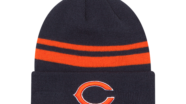 CHICAGO BEARS CUFF KNIT