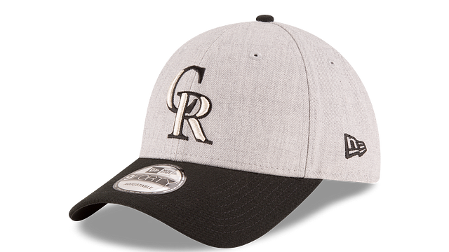 COLORADO ROCKIES HEATHER 9FORTY ADJUSTABLE 3 quarter left view