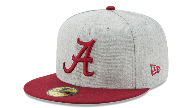 ALABAMA CRIMSON TIDE HEATHER ACTION 59FIFTY FITTED