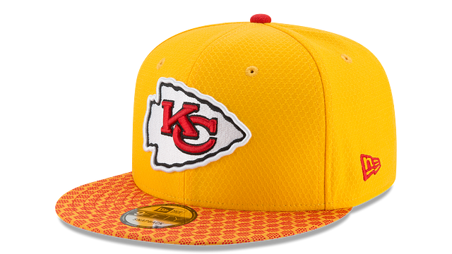 KANSAS CITY CHIEFS OFFICIAL SIDELINE 9FIFTY SNAPBACK