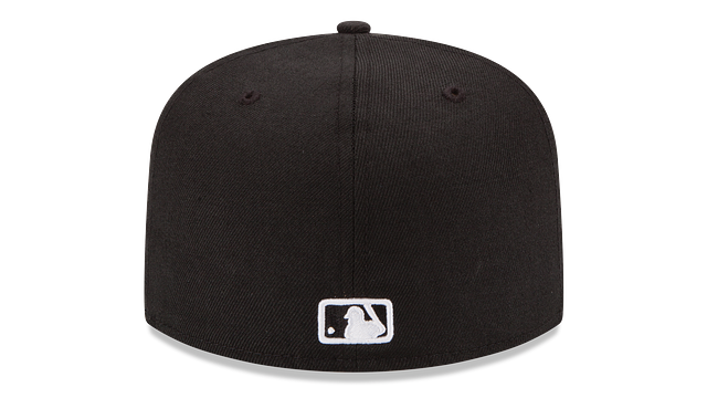 PHILADELPHIA PHILLIES BLACK & WHITE 59FIFTY FITTED