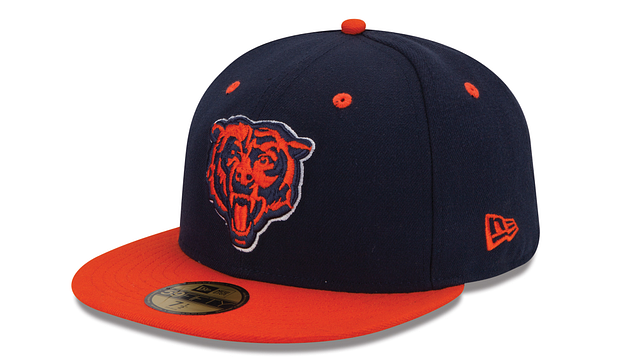 CHICAGO BEARS 2TONE 59FIFTY FITTED