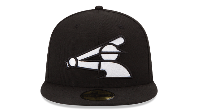 CHICAGO WHITE SOX BLACK & WHITE 59FIFTY FITTED