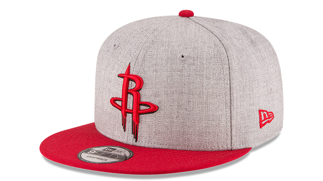 HOUSTON ROCKETS 2TONE HEATHER 9FIFTY SNAPBACK