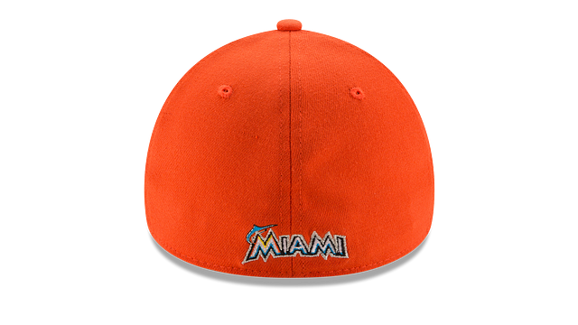 MIAMI MARLINS TEAM CLASSIC 39THIRTY STRETCH FIT