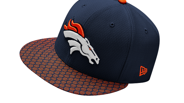 DENVER BRONCOS OFFICIAL SIDELINE 9FIFTY SNAPBACK