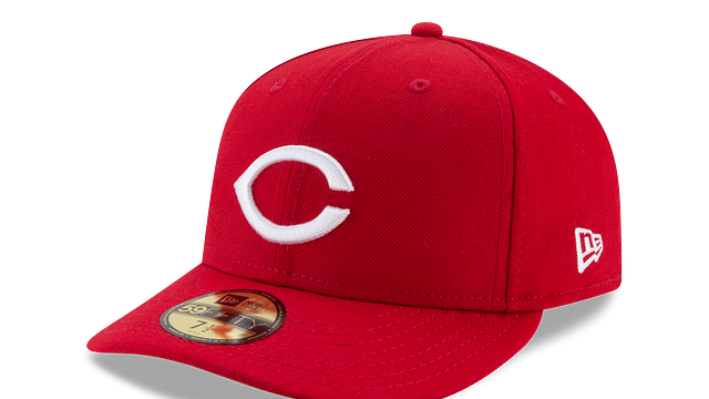 CINCINNATI REDS WORLD SERIES LOW PROFILE 59FIFTY FITTED