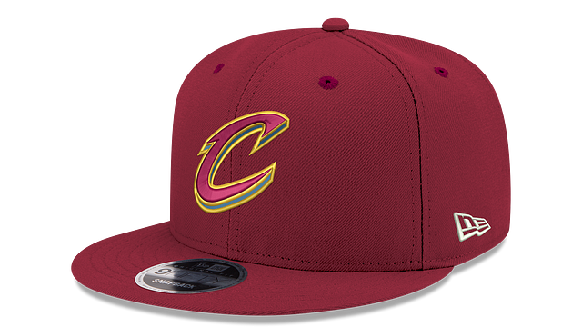 CLEVELAND CAVALIERS TEAM COLOR 9FIFTY SNAPBACK