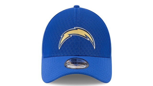 LOS ANGELES CHARGERS COLOR RUSH 39THIRTY STRETCH FIT