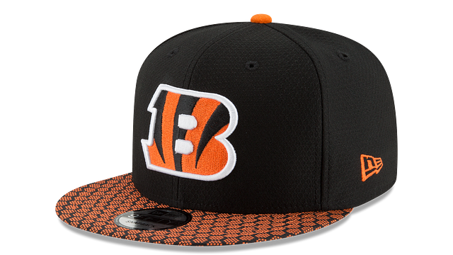 CINCINNATI BENGALS OFFICIAL SIDELINE 9FIFTY SNAPBACK