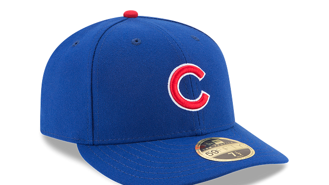 CHICAGO CUBS AUTHENTIC COLLECTION LOW PROFILE 59FIFTY FITTED