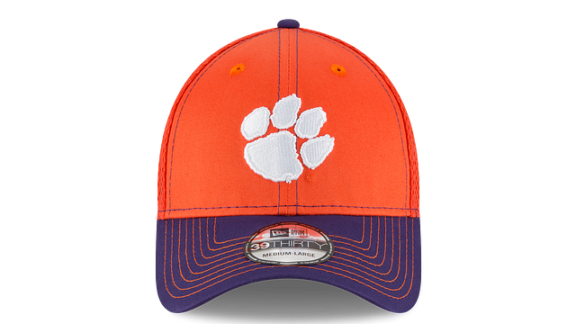 CLEMSON TIGERS TEAM CLASSIC 39THIRTY STRETCH FIT