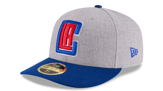 LOS ANGELES CLIPPERS HEATHER LOW PROFILE 59FIFTY FITTED