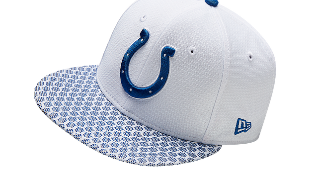 INDIANAPOLIS COLTS OFFICIAL SIDELINE 9FIFTY SNAPBACK