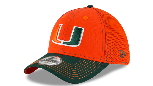 MIAMI HURRICANES TEAM CLASSIC 39THIRTY STRETCH FIT