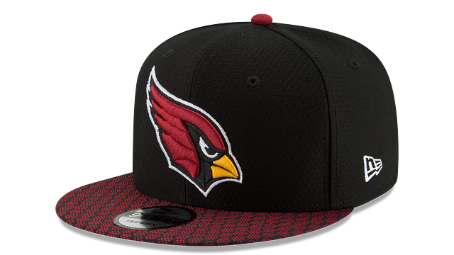 ARIZONA CARDINALS OFFICIAL SIDELINE 9FIFTY SNAPBACK
