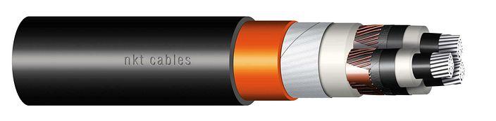 Image of XLPE Al three core cable