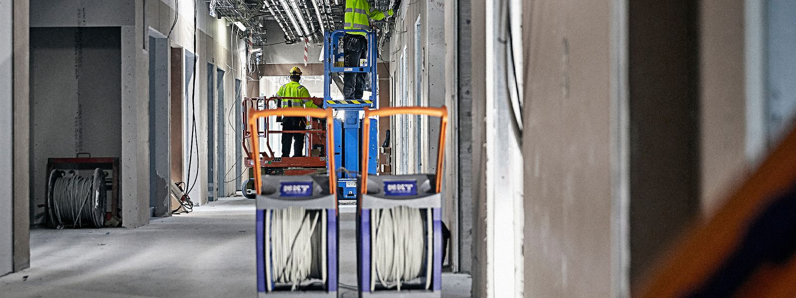 Installers using Qaddy® with low voltage cable