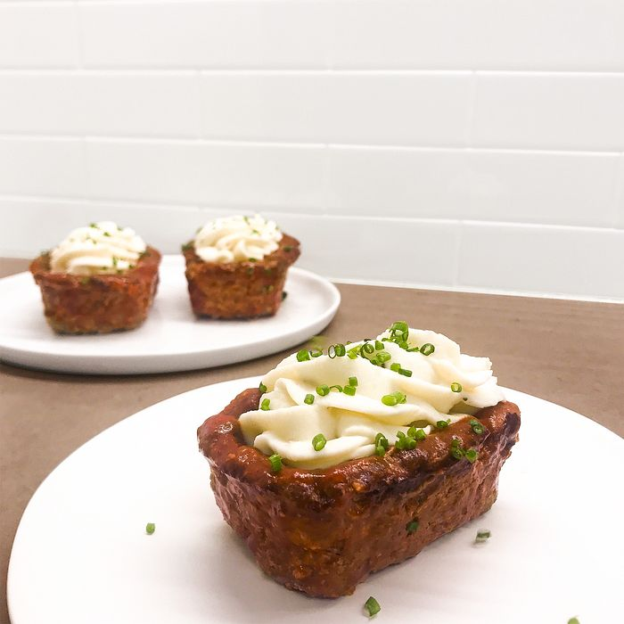 Meatloaf & Mashed Potato Boats