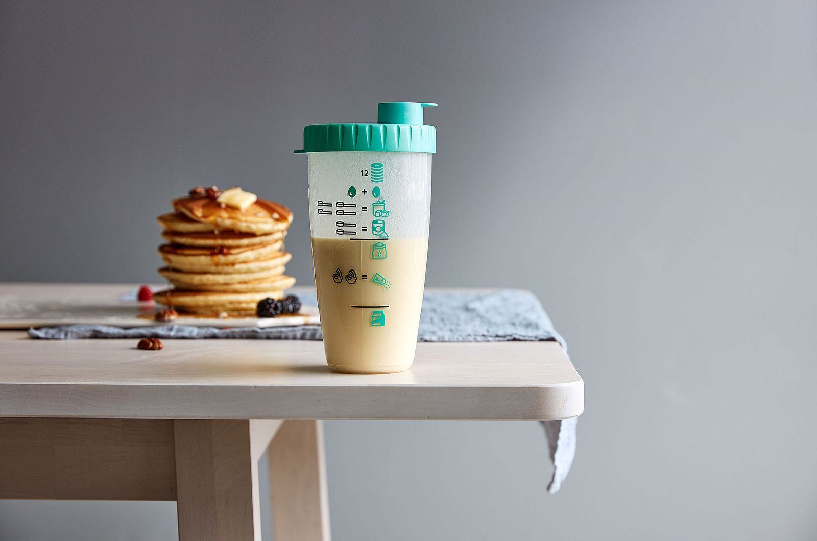Pancake Blender Bottle