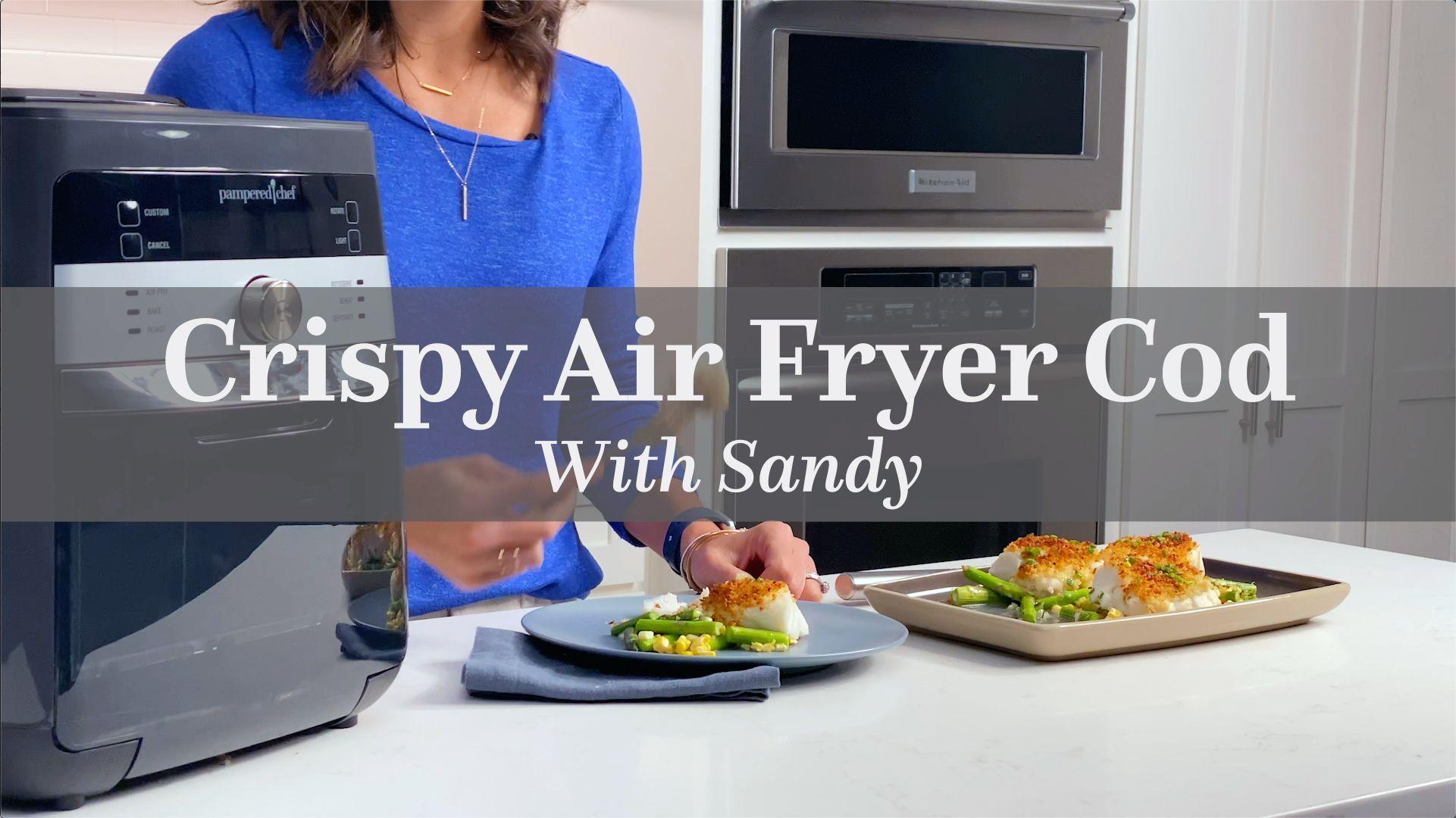 crispy air fryer cod