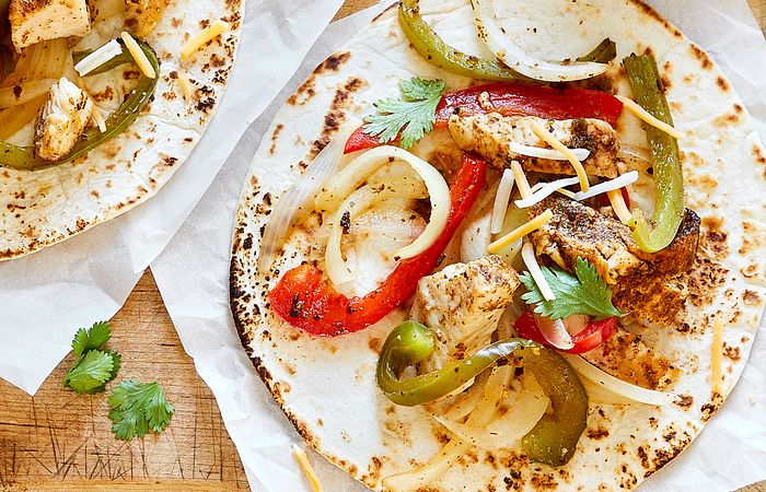 Rush Hour Chicken Fajitas