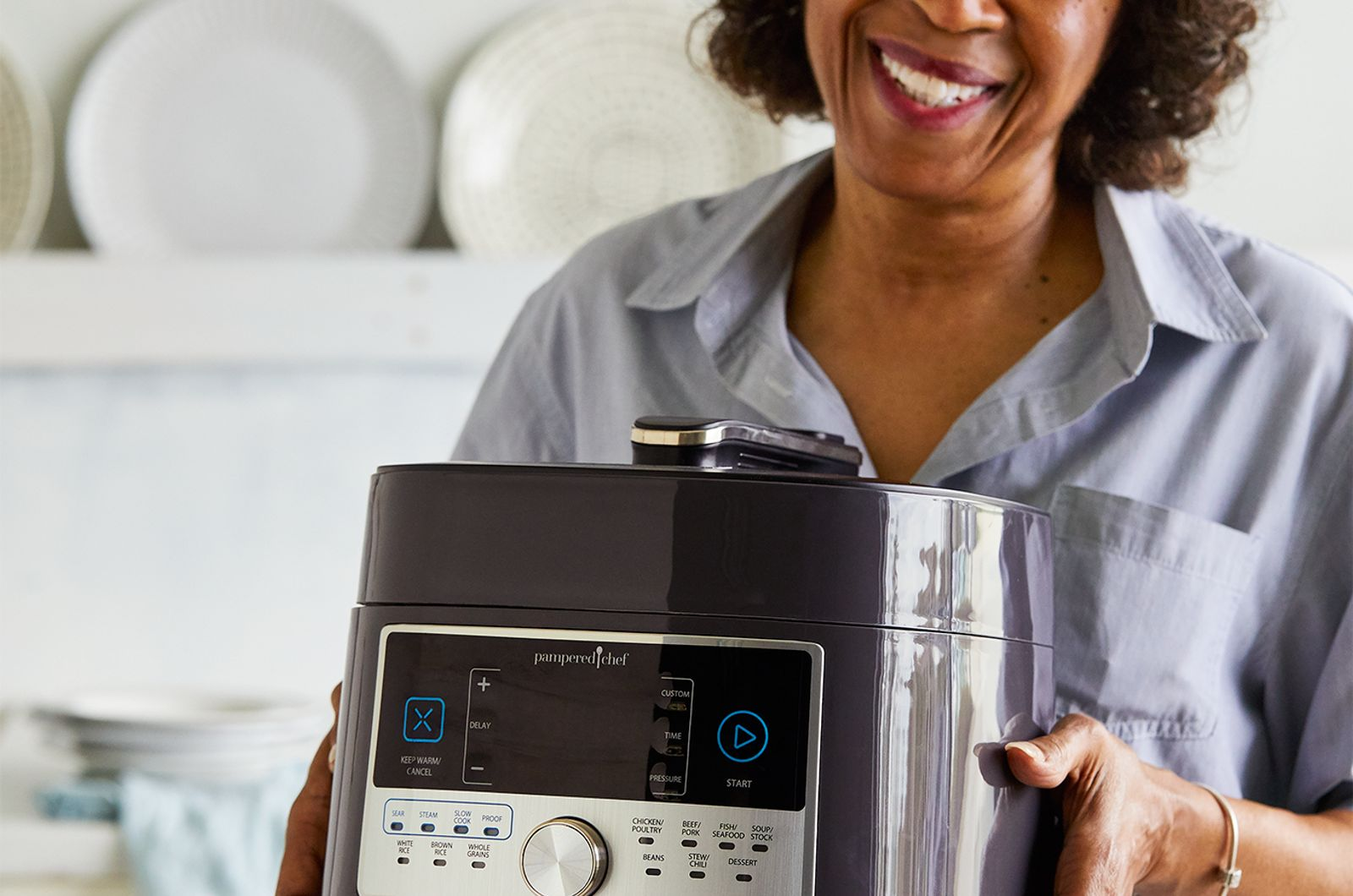 How to Clean a Pampered Chef Pressure Cooker