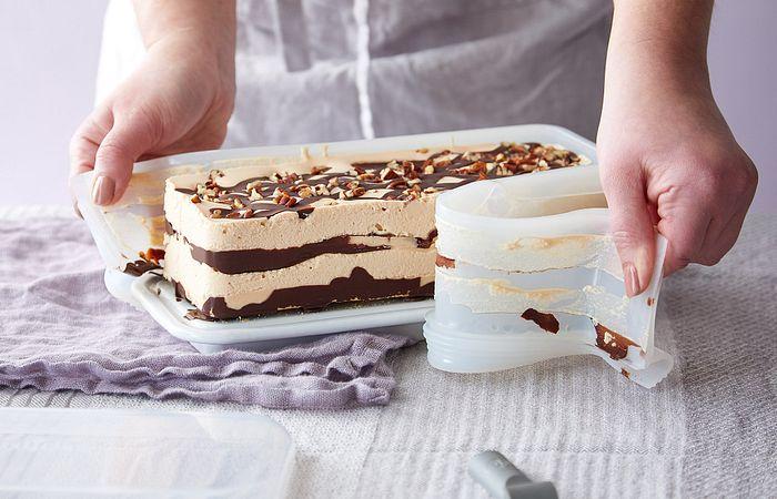 No-Bake Turtle Icebox Cake
