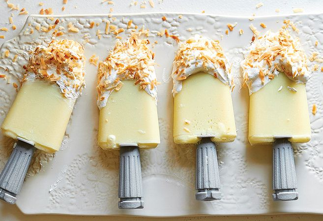 Pina Colada Quicksicles