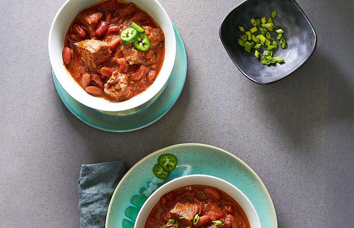 Quick Cooker Homemade Chili