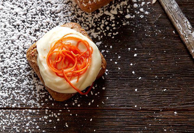 2-Ingredient Carrot Cake