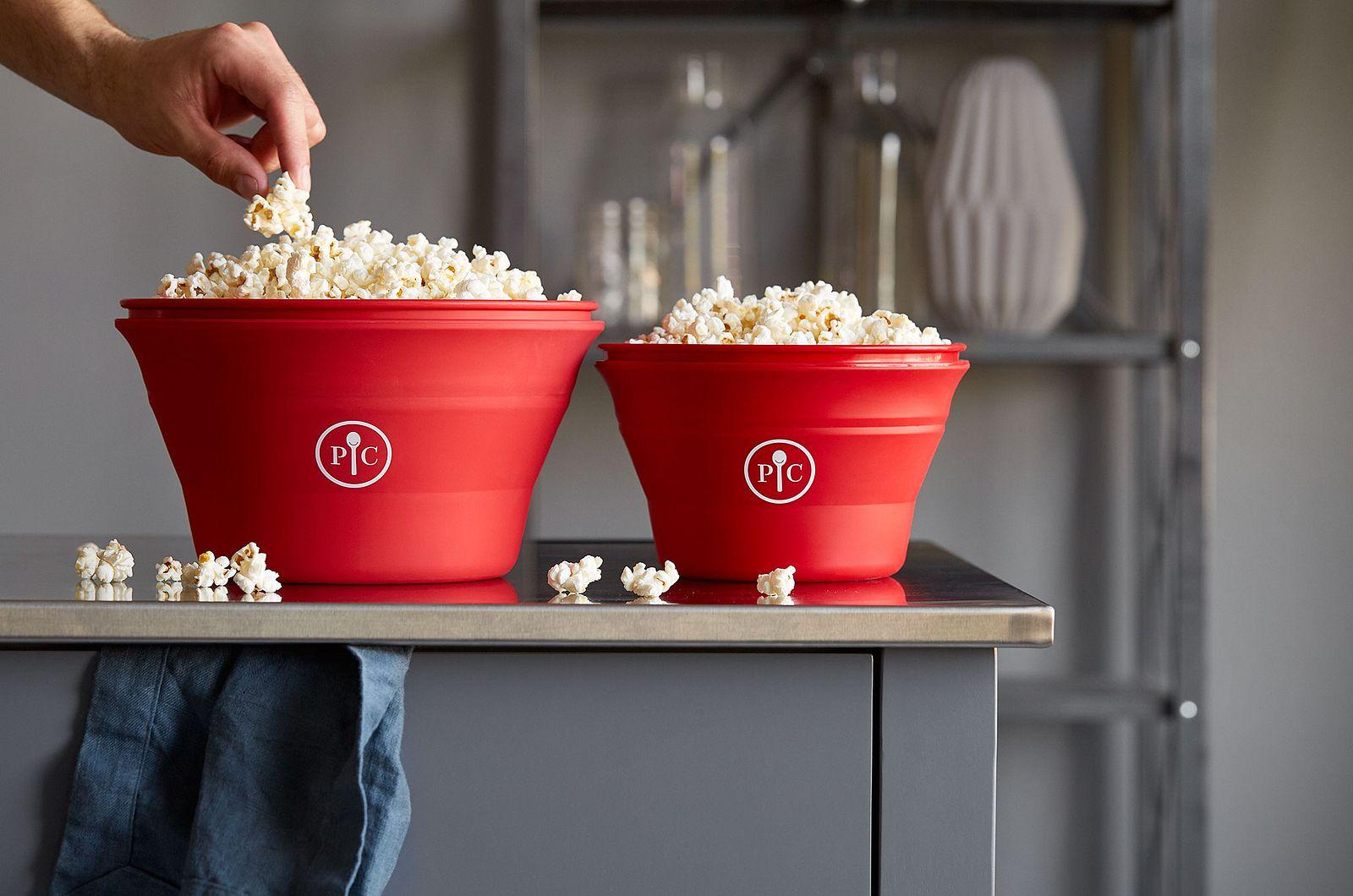 Family-Size Microwave Popcorn Maker