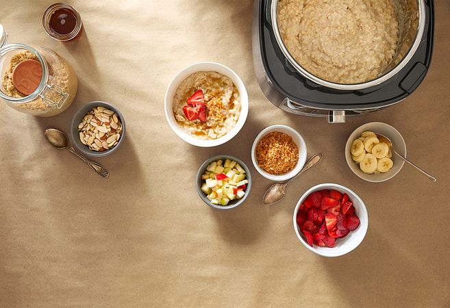 Quick Cooker Oatmeal