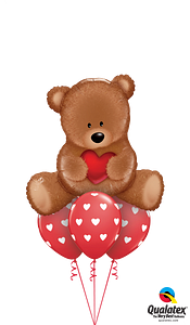 16453--76928--Teddy-Bear-Love-Layer--RUSSIAN