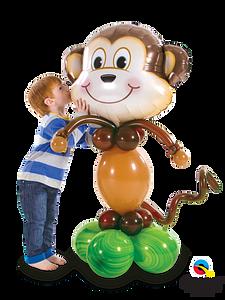 Mischievous-Monkey-Stand-Up