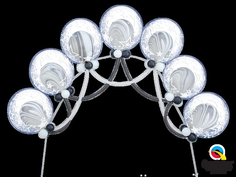 Deco-Bubble-Swag-Arch