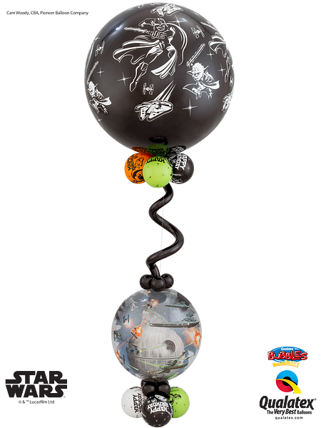 Star-Wars-Bubble-and-3ft-bouquet
