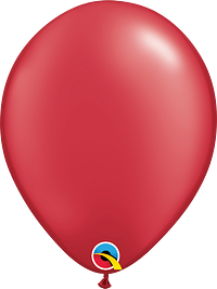 Pearl Ruby Red Balloon