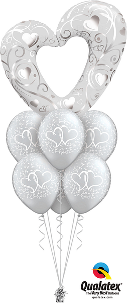 16304--18641--Hearts--Filigree-Silver-Luxury