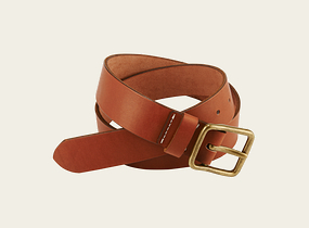 Oro Russet Pioneer Leather Belt product photo