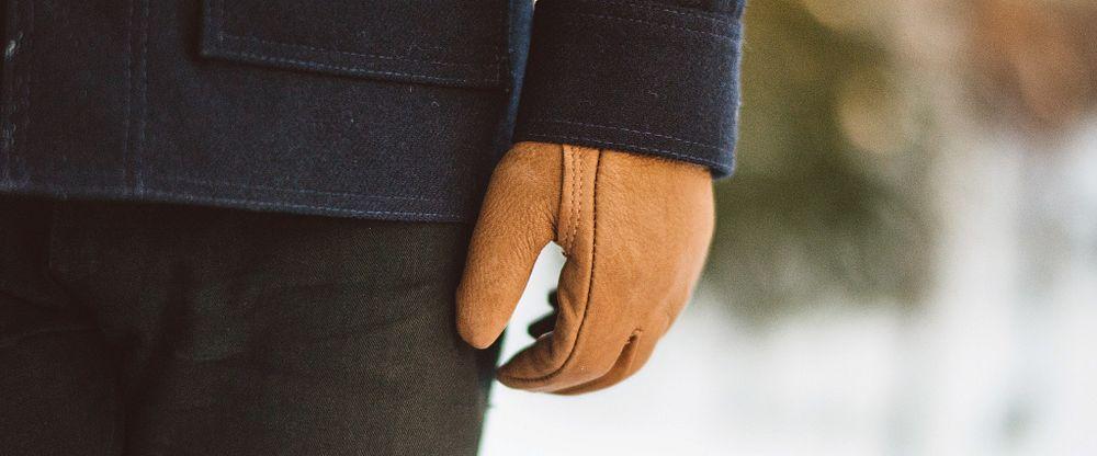 Lined Buckskin Leather Glove Gallery Image 3