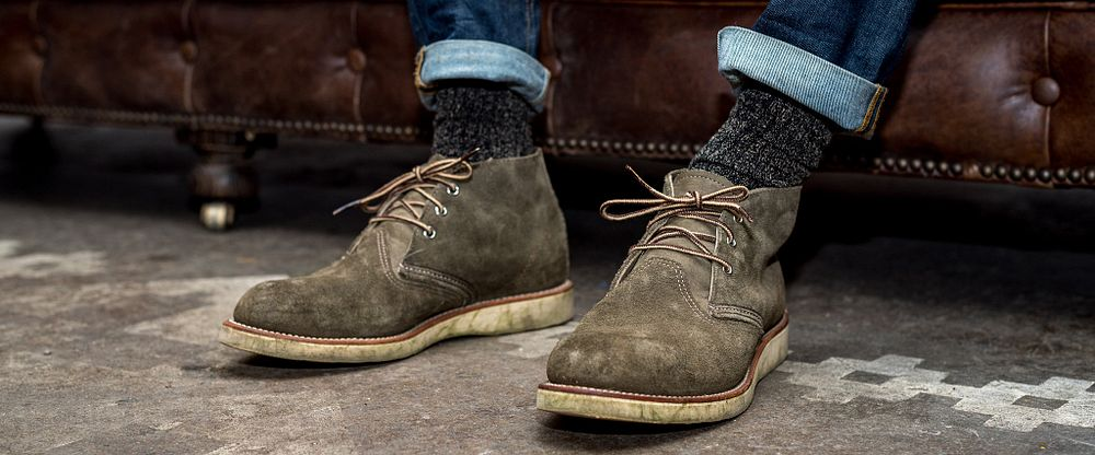 Mens Work Chukka Gallery Image 5
