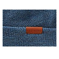 Navigate to CAP, BLUE HEATHER WOOL KNIT product image