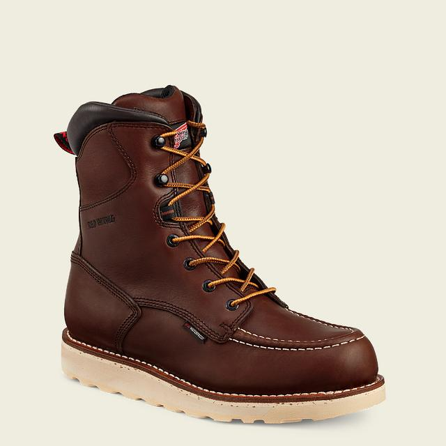 43531c7f45b8 Men's 411 Electrical Hazard Waterproof Traction Tred 8-inch Boot | Red Wing  Work Boots