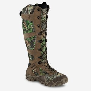 aa3ef5120903c Men's Vaprtrek™ 17-inch Waterproof Leather Realtree® Camo Snake Boot ...