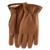 Lined Buckskin Leather Gloveimage number 0